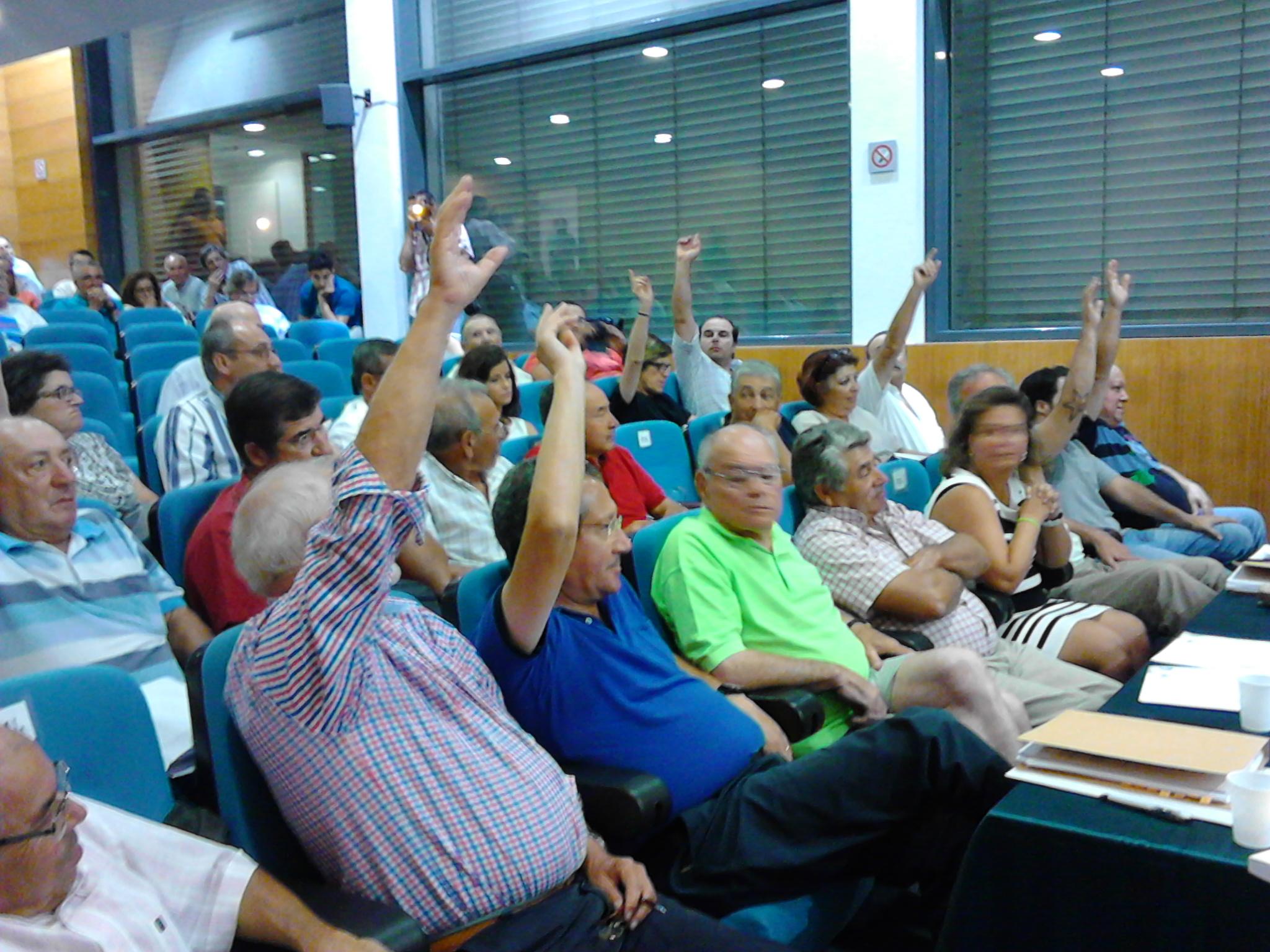 Votação Aditamento Contrato Água