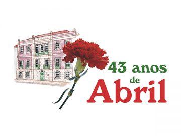 43º aniversário 25 de Abril