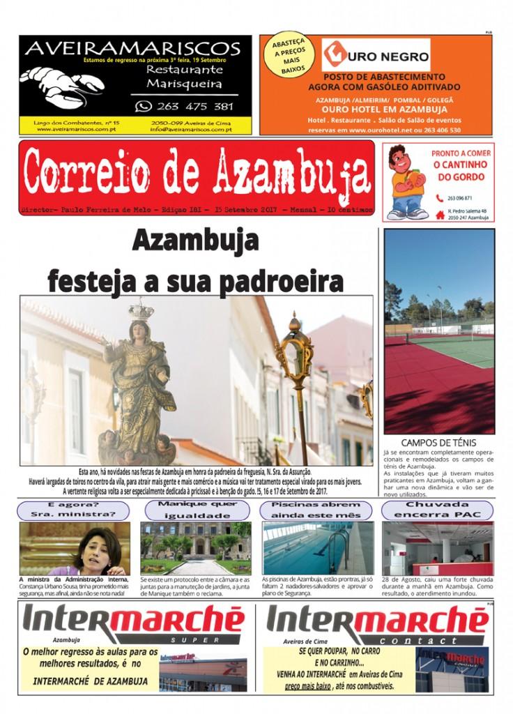 Correio   de Azambuja Edição de Setembro 2017
