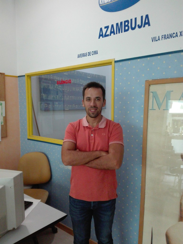 Ricardo Pereira, novo responsável Ribatejofm.