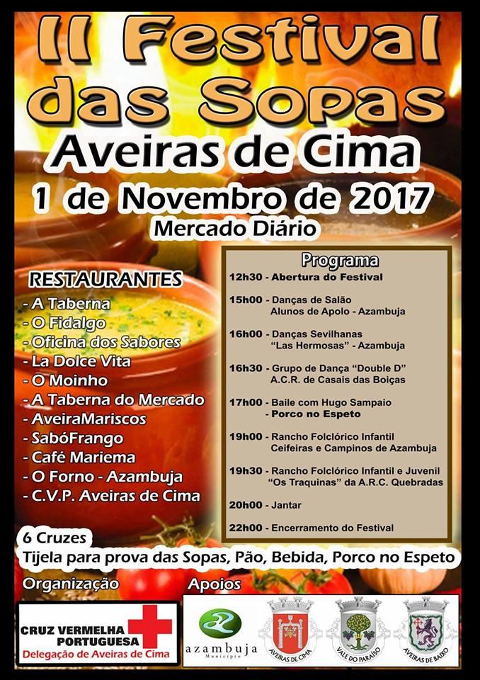 Cartaz II Festival das Sopas