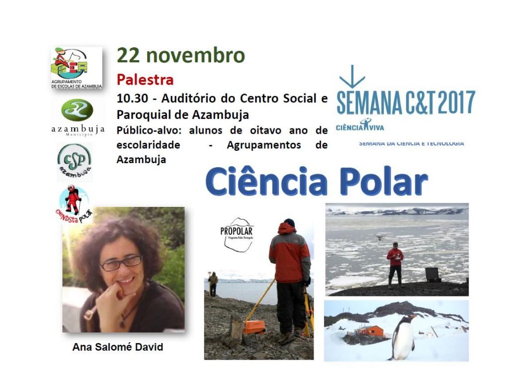 Palestra Ciência Polar
