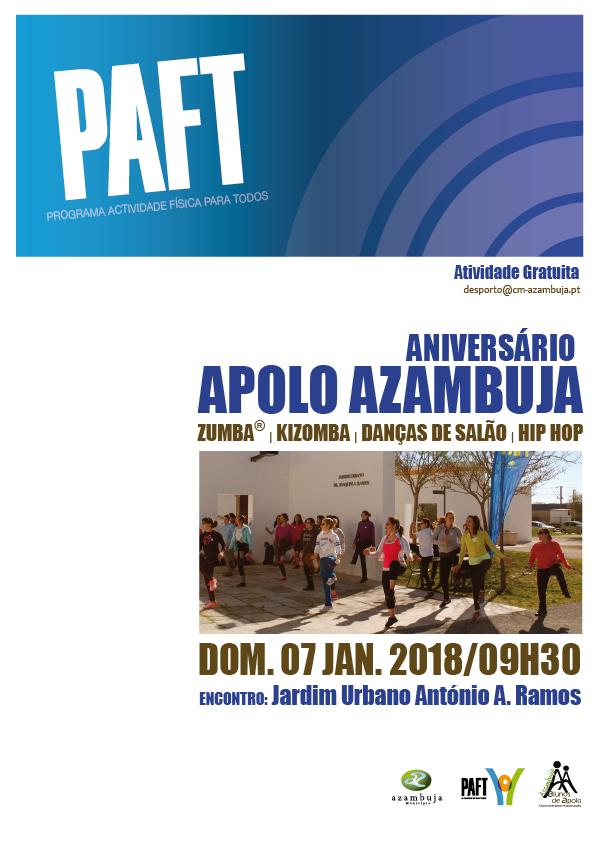PAFT Aniversário Alunos de Apolo Azambuja