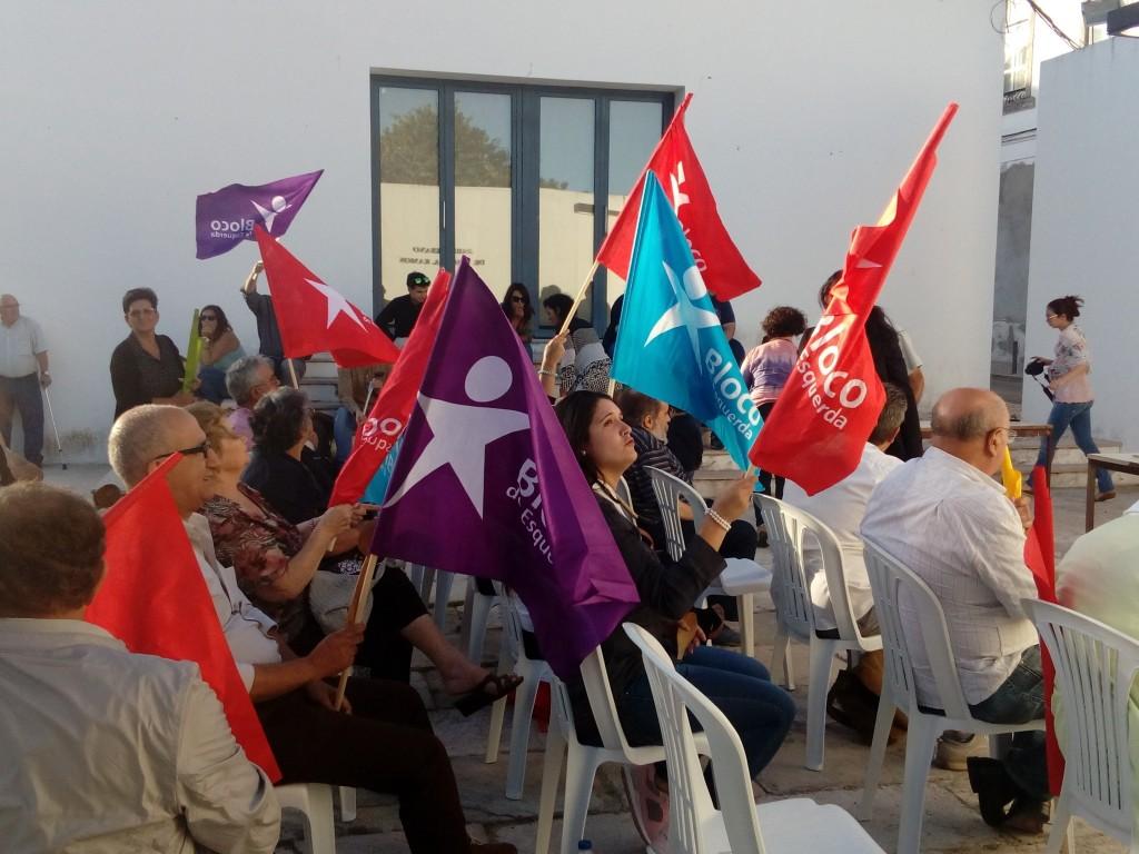Apresentação da candidatura do Bloco de Esquerda Azambuja às autárquias 2017