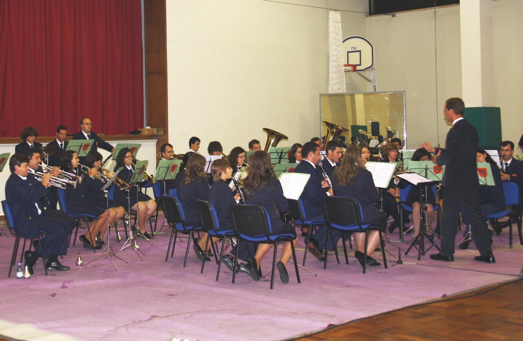Banda de Música dos Bombeiros Voluntários de Alcoentre (Foto: CMA)